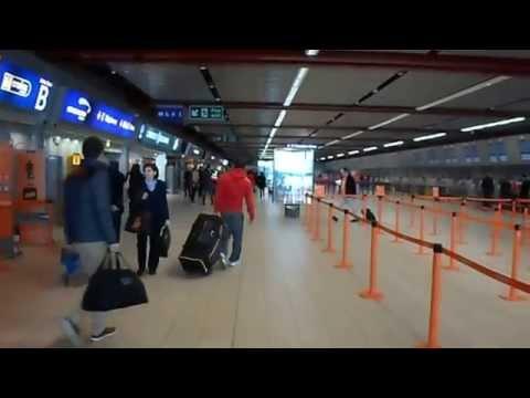 Inside Luton Airport - Walking Around Luton Airport Deapartures