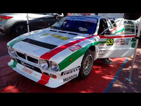 1 Milano Rally Show 2017 parco assistenza 5 agosto 2017