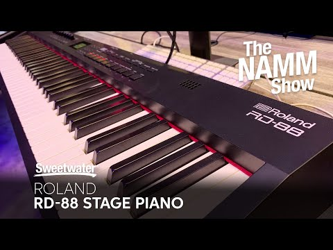 Roland RD-88 Stage Piano at Winter NAMM 2020