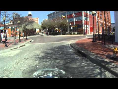 Motorcycle tour Downtown Dallas Part 2