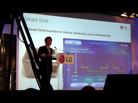 CES 2011 - LG Keynote about Smart Appliances at the Venetian Las Vegas