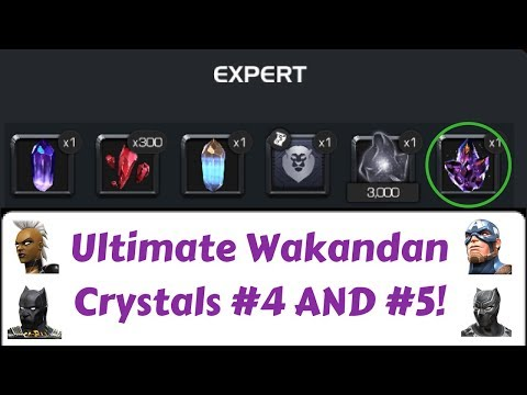 2 MORE ULTIMATE WAKANDAN CRYSTALS...3 AWARDED IN ONE DAY!