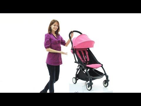 Как сложить коляску yoyo видео