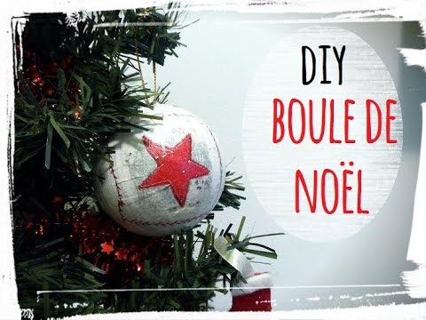 tuto boule de noel serviettage diy youtube. Black Bedroom Furniture Sets. Home Design Ideas