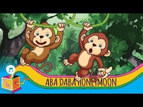 Aba Daba Honeymoon | Nursery Rhyme | Animated Karaoke