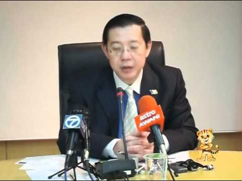 Merlimau - Guan Eng reminds Ali Rustam 'CM for all'