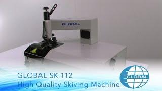 Global SK 112 - Leather Skiving Machine
