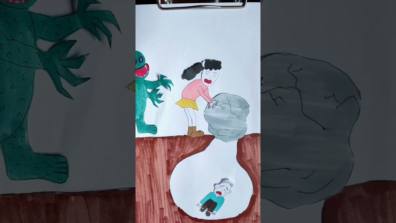 Mother's Love #animation #shorts #drawing #painting #Xiaolin #MissXiaoLin