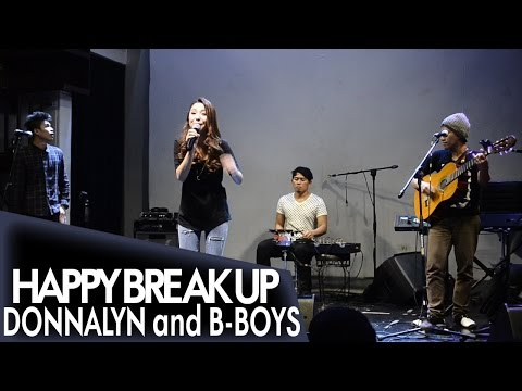 Donnalyn Bartolome - Happy Break Up BAND VERSION [Viva Idols Fan Meet @Music Hall]