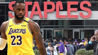 Lebron James Called Out By Fans For Being Hidden & MIA From Kobe Bryant Memorial