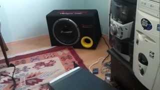 evde ses sistemi pioneer ts-w309 d4 kilime dikkat :)