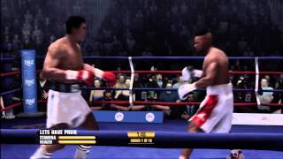Muhammad Ali v Roy Jones Jr - Fight Night Champion - Amazing Fight And KO - HD