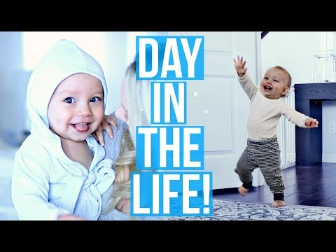 AN ADORABLE DAY IN THE LIFE OF A 1 YEAR OLD!