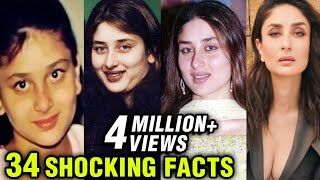 Kareena Kapoor 34 SHOCKING Facts | Happy Birthday Kareena Kapoor Khan