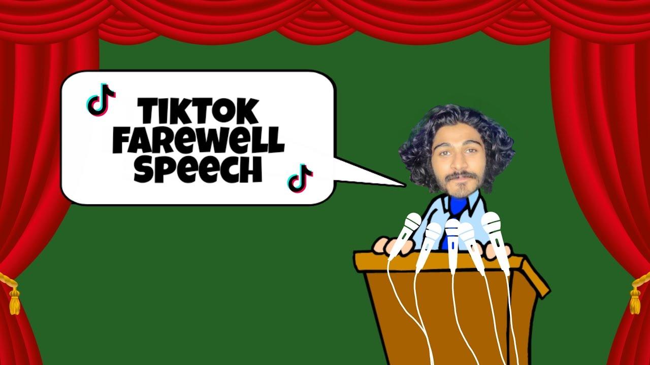 Tik Tok Farewell Speech | യുവാവിന്റെ ടിക് ടോക് വിടവാങ്ങൽ പ്രസംഗം | FT Guys