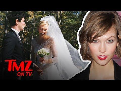 Karlie Kloss Got Married! | TMZ TV