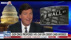 Tucker Sides With Bernie & AOC On Capping Interest Rates At 15%