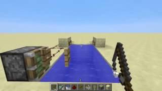 教程的Minecraft自动农场鱼!