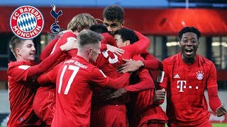 U19 finishes Youth League group undefeated | FC Bayern vs Tottenham 3-0 | Highlights