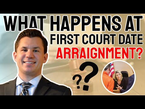 What happens at first court date or arraignment? - R&R Law Group