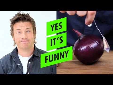 How to chop an ONION using CRYSTALS with Jamie Oliver video