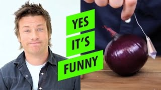 How to chop an ONION using CRYSTALS with Jamie Oliver