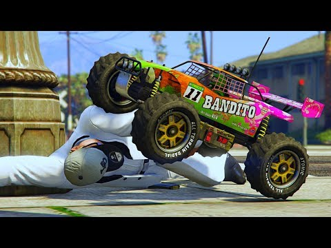 TESTING & MESSING AROUND WITH THE NEW RC BANDITO!   GTA 5 ONLINE SHENANIGANS! thumbnail