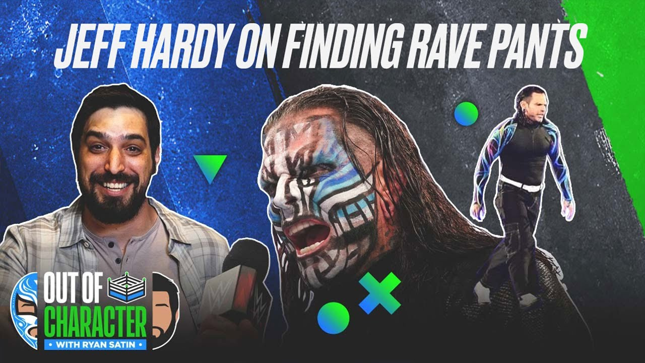 Why Jeff Hardy can't find his signature rave pants | Out Of Character | WWE ON FOX