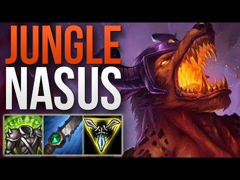 NASUS JUNGLE IS UNSTOPPABLE! | JUNGLE NASUS GAMEPLAY | Patch 9.1 S9