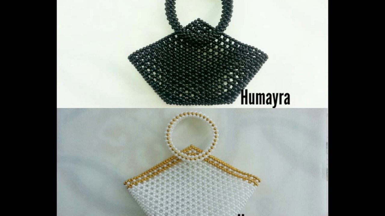 How to make Beaded Purse/ Bag /পুতির ব্যাগ (design 3 ...