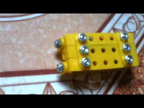 Làm máy kéo từ bộ lắp ghép kĩ thuật lớp 5