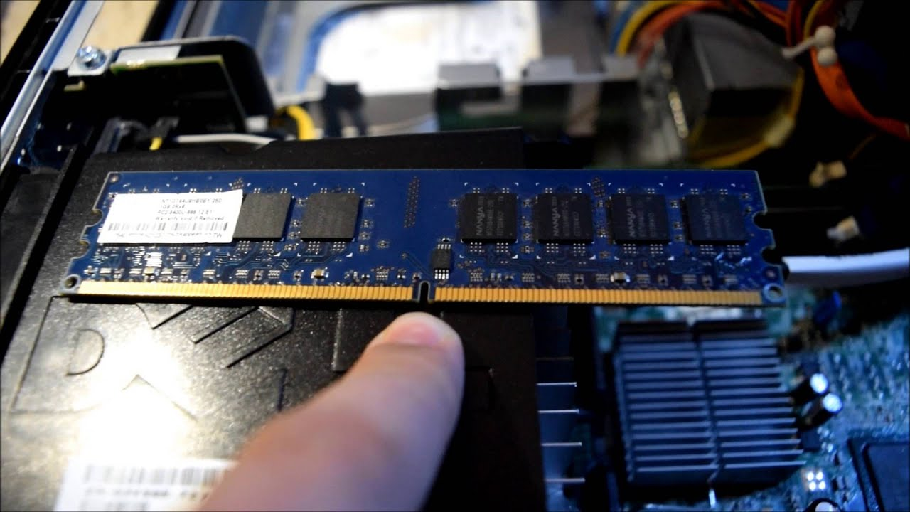 Upgrading Ram in the Dell Optiplex 760