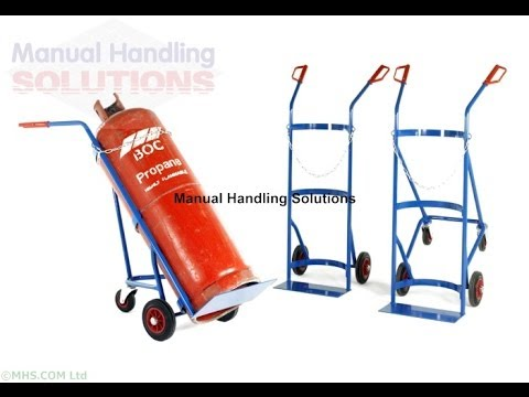 Cylinder Handling Equipment, Cylinder Handling, Manual Handling Solutions, UK