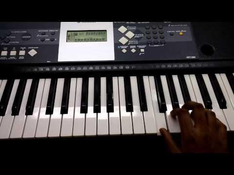 S/o Satyamurthy theme song keyboard cover