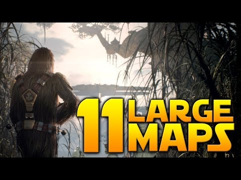 11 GALACTIC ASSAULT LOCATIONS - Confirmed - Star Wars Battlefront II