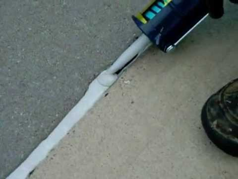 How to repair an expansion Joint or a crack wwwSealGreen