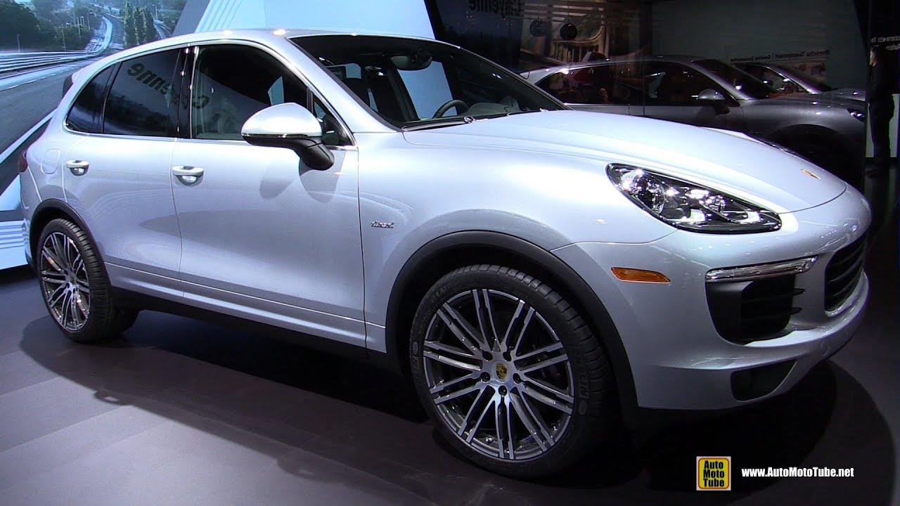 2015 porsche cayenne diesel exterior and interior walkaround 2014 la auto show youtube