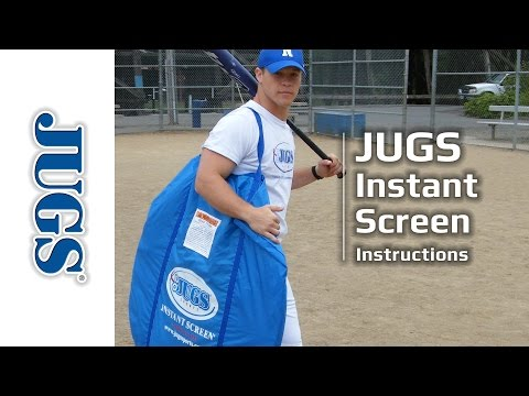 Instant Screen Instructions | JUGS Sports