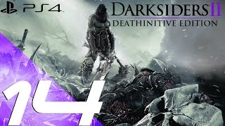 Darksiders II Deathinitive Edition PS4 - Walkthrough Part 14 - Phariseer Tomb [1080p 60fps]