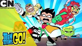 Teen Titans Go! | Best Personality For Battle | Cartoon Network UK 🇬🇧