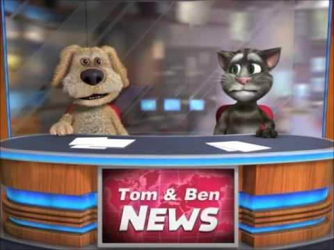 Talking Tom & Ben News: The Gummy Bear Song (Full Song)