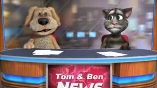 Repeat youtube video Talking Tom & Ben News: The Gummy Bear Song (Full Song)