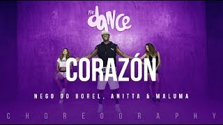 Corazón - Maluma ft. Nego do Borel | FitDance Life (Coreografía) Dance Video