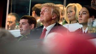 Trump Booed By Fans Ahead Of Georgia - Alabama Football Championship Game