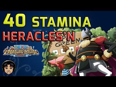 Walkthrough for Heracles'un 40 Stamina Raid [One Piece Treasure Cruise]