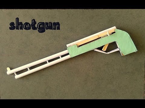 How to Make Amazing Paper Shotgun - toy for kids