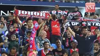 Fans celebrate JDT's win
