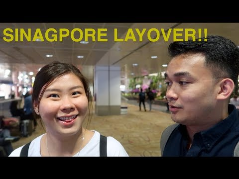 Singpore Layover (What to do when you have 10hours in Singapore)