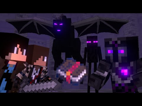 The Book Of Enchantment Full Animation Minecraft Fight Animation