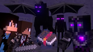 The Book of Enchantment [Full Animation] (Minecraft Fight Animation)